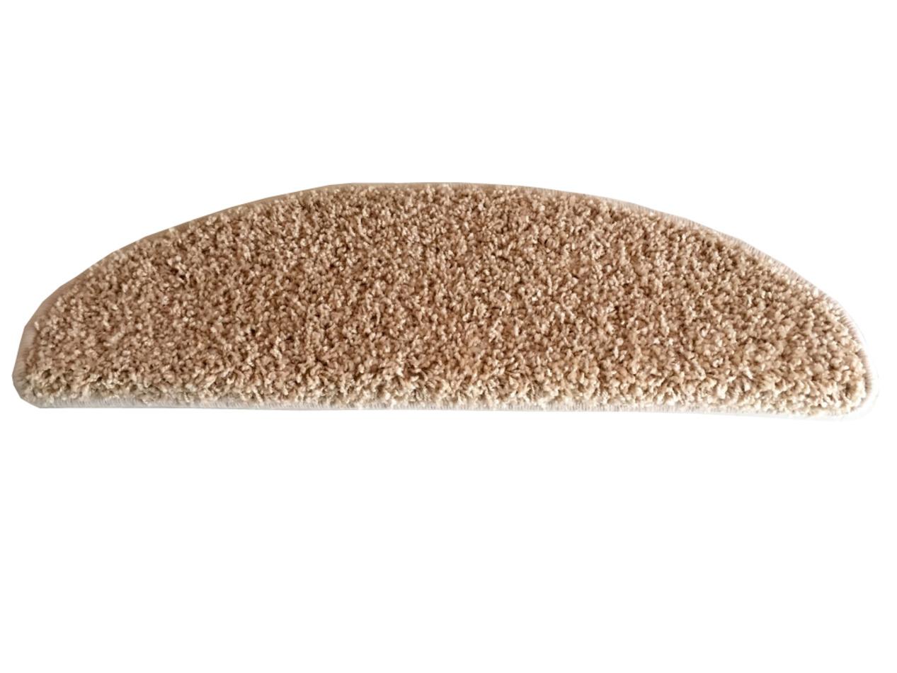 VOPI Nášľap na schody Color Shaggy béžová, 24 x 65 cm
