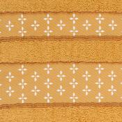 Osuška Vanesa oranžová, 70 x 140 cm