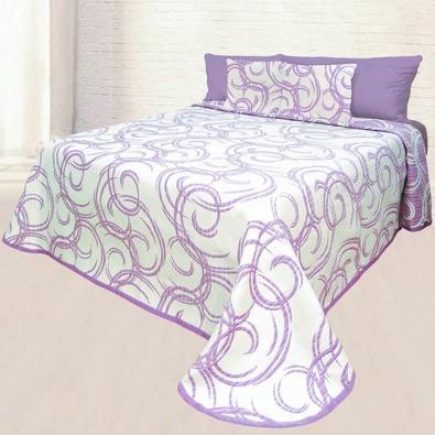 Přehoz na postel Baile, 140 x 220 cm + 1 ks 40 x 40 cm