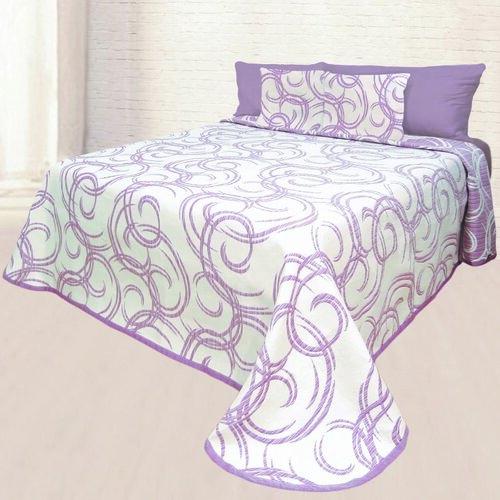 Prehoz na posteľ Baile, 140 x 220 cm + 1 ks 40 x 40 cm