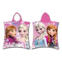 Poncho copii Frozen sister, 50 x 115 cm