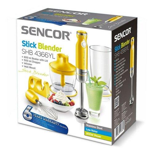 Sencor SHB 4366YL tyčový mixér žlutá