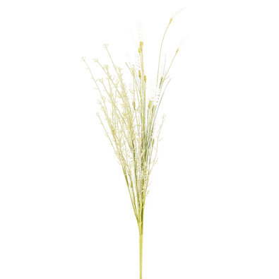 Umelé lúčne kvetiny levanduľa 56 cm, biela