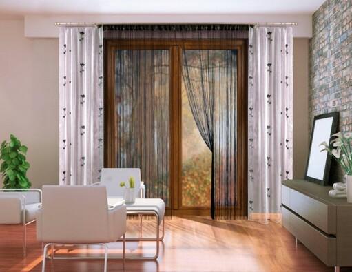 Závěsový komplet Odetta, 150 x 250 cm
