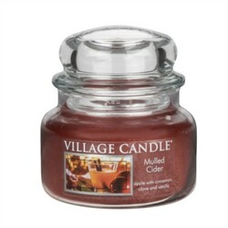 Village Candle Vonná svíčka ve skle, Jablečný mošt - Mulled Cider, 269 g