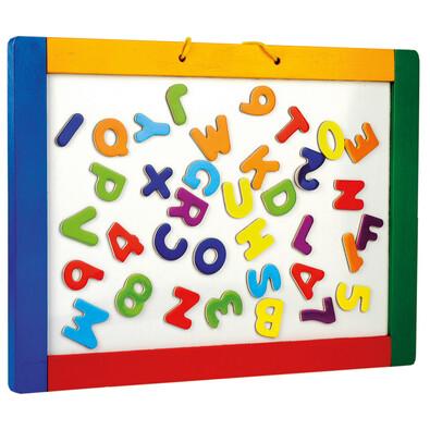 Bino Magnetická závesná tabuľa s písmenkami