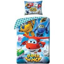 Lenjerie de pat Super Wings 5510, pentru copii , 140 x 200 cm, 70 x 90 cm