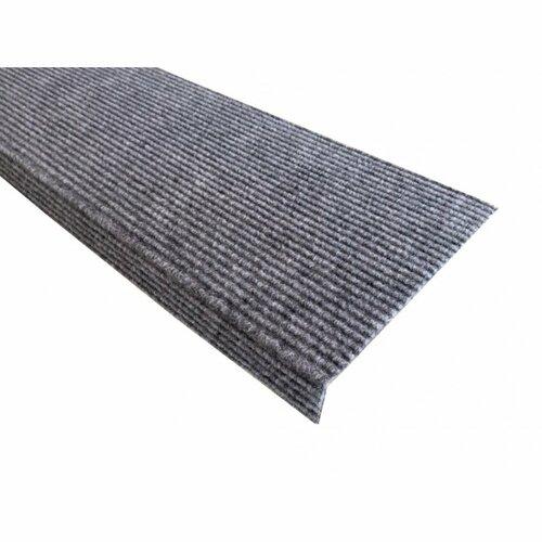 Nášľap na schody Quick step obdĺžnik sivá, 24 x 65 cm