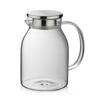Kela Dzbanek szklany na herbatę LUNA, 1,5 l