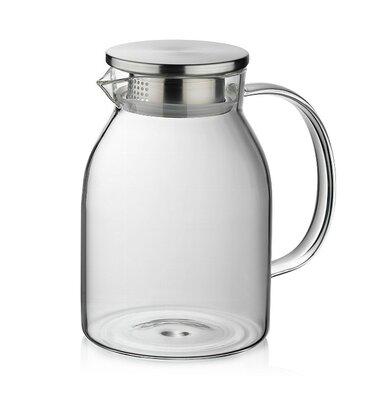 Kela Sklenená kanvica na čaj LUNA, 1,5 l