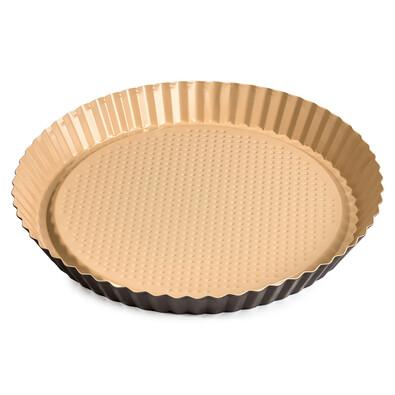 4Home Forma na koláč s keramickým povrchem, hnědá