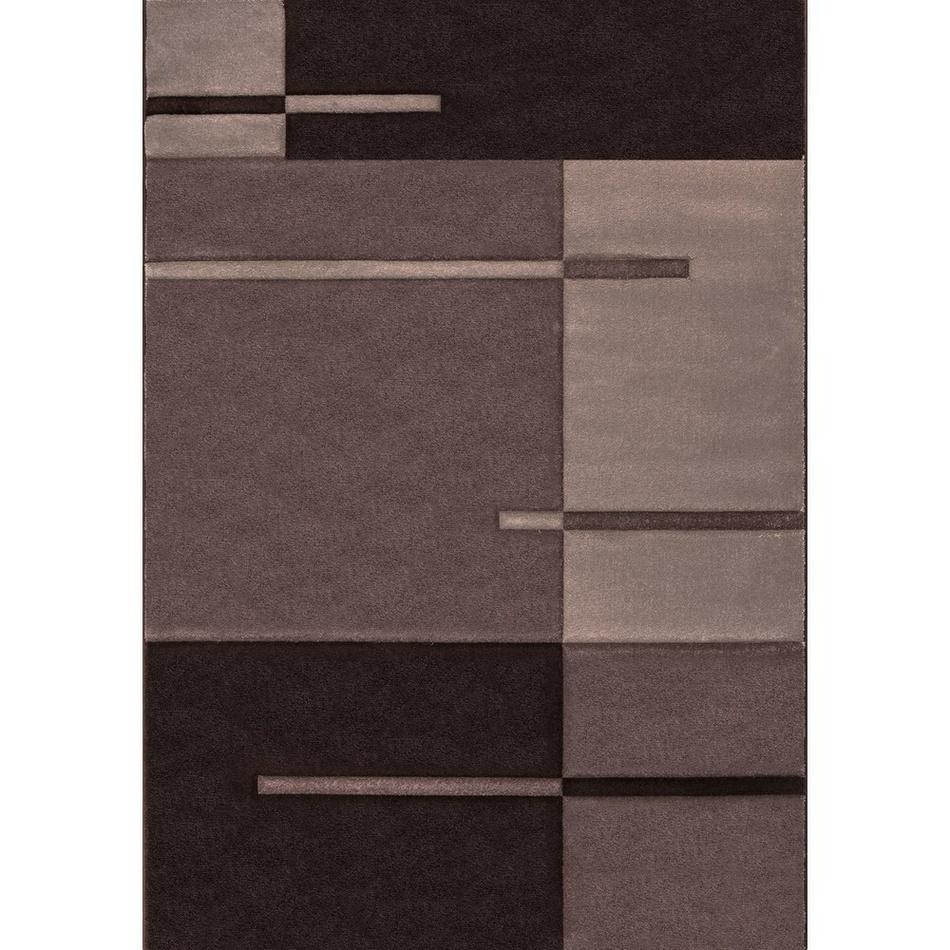 Vopi Kusový koberec Hawaii 1310 Brown, 80 x 150 cm, 80 x 150 cm