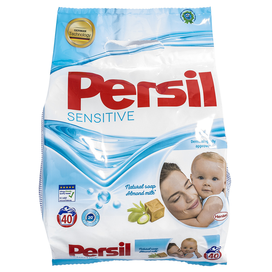 Persil Prací prášok Sensitive 40 PD, 2,8 kg