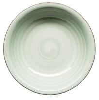Mäser Keramický hluboký talíř Bel Tempo 21,5 cm, zelená