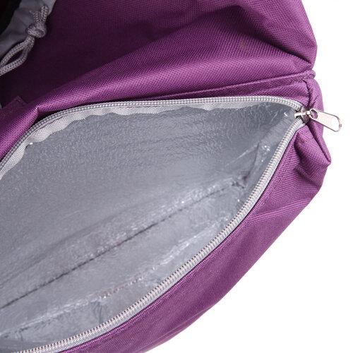 Nákupní taška na kolečkách Malaga, fialová
