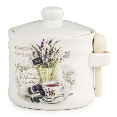 Cukřenka se lžičkou Lavender