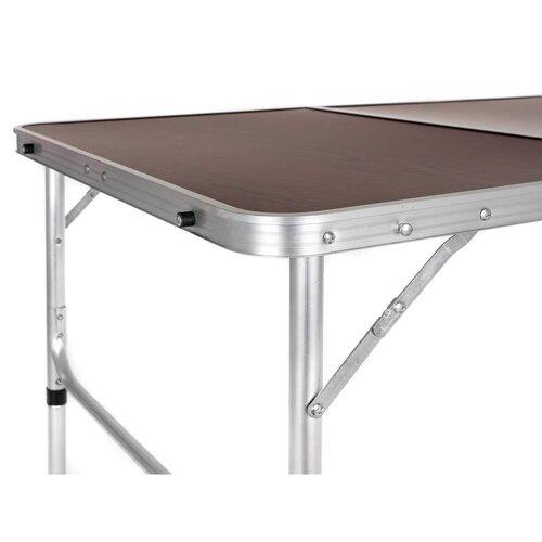 Happy Green Kempingový skladací stôl Mobby, 135 x 65 x 70 cm