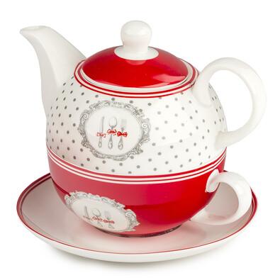 3dílná čajová sada Alice