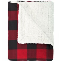 Mistral Home Beránková deka Scot army červená , 150 x 200 cm