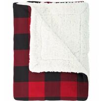 Pătură din imitaţie de lână Mistral Home Scot army, roşu, 150 x 200 cm