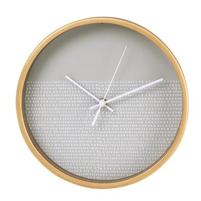Hama HG-260 nástěnné dřevěné hodiny Tečky