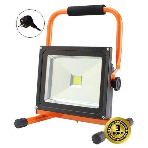 Solight LED vonkajší reflektor, 30W, 2100lm, prívodný kábel 1,2m, AC 230V, stojan
