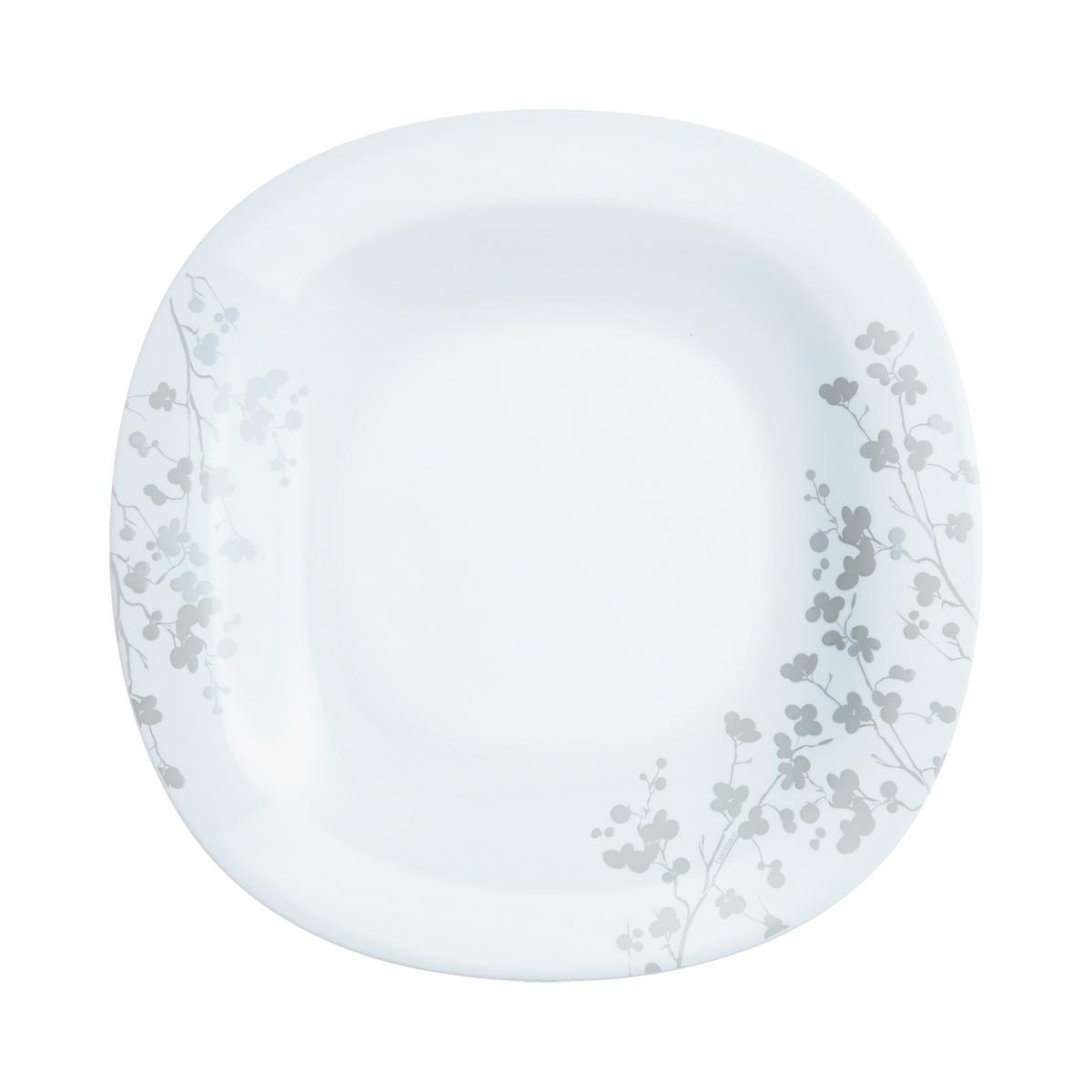 Luminarc Sada mělkých talířů Ombrelle 27 cm, 6 ks, bílá