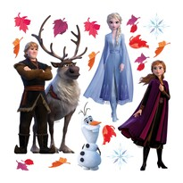 Naklejka Frozen 2, 30 x 30 cm