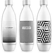 SodaStream Fľaša TriPack 1 l Fuse Black&White