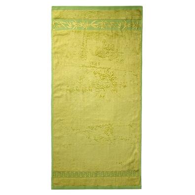 Ručník bambus Hanoi zelená, 50 x 100 cm