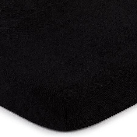 4Home frottír lepedő fekete, 160 x 200 cm