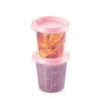Tescoma PAPU PAPI doboz 200 ml, 2 db, rózsaszín