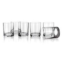 Set pahare whisky Banquet Crystal Degustation, 320ml, 6 buc.