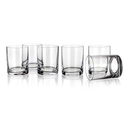 Banquet Crystal Sada pohárov na whisky Degustation 320 ml, 6 ks