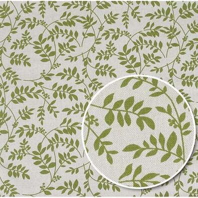 Ubrus Ivo Větvička zelená, 85 x 85 cm