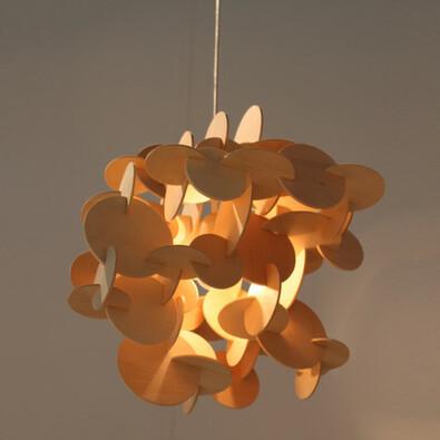 Żyrandol Bau Lamp S 44 cm, naturalny