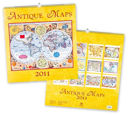 Kalendář mapy světa