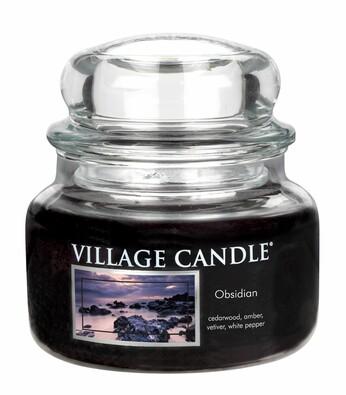 Village Candle Vonná svíčka Tajemný Obsidián - Obsidian, 269 g