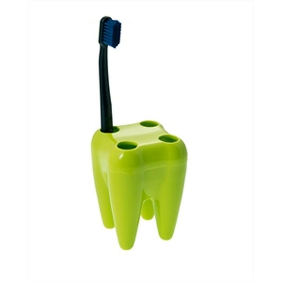 Držiak kefiek zub, zelený
