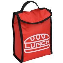 Geantă frigorifică Lunch break, roșu, 24 x 18,5x 10 cm