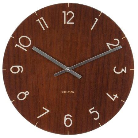 Karlsson 5619DW Designové nástenné hodiny,  40 cm