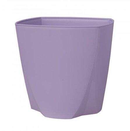 Plastový obal na květináč Camy 21 cm, levandulová