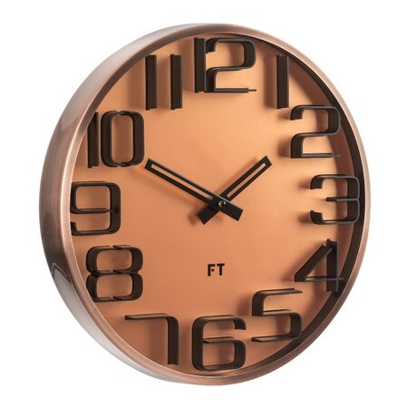 Future Time FT7010CO Numbers Dizájner falióra, átmérő: 30 cm