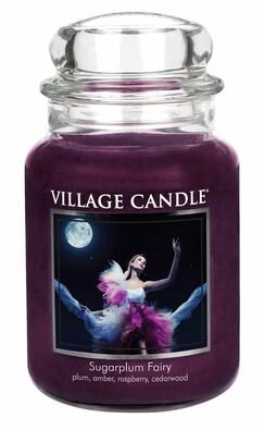 Village Candle Vonná svíčka Půlnoční víla - Sugarplum Fairy, 645 g