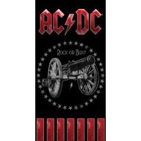 Osuška AC/DC Rock or Bust, 70 x 140 cm