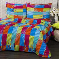 Krepové povlečení Bruno Color, 140 x 200 cm, 70 x 90 cm