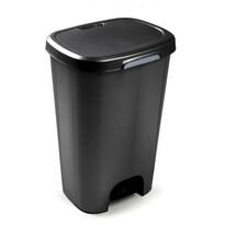 Coș de gunoi 50 l, negru