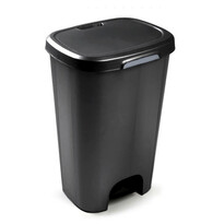 Kosz na śmieci 50 l, czarny