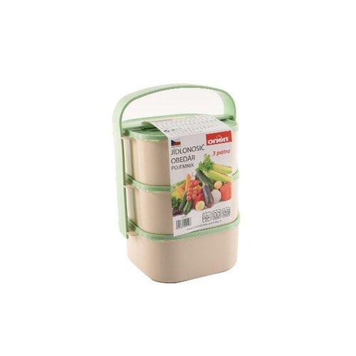 Orion Plastový jídlonosič Almi 3 x 1,15 l