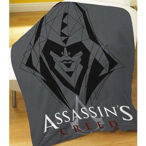 Cure Pink Fleecová deka Assassin's Creed, 120 x 150 cm